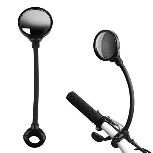 DAUERHAFT Espejo retrovisor para Manillar de Bicicleta, Mejor Vista para Bicicletas eléctricas...