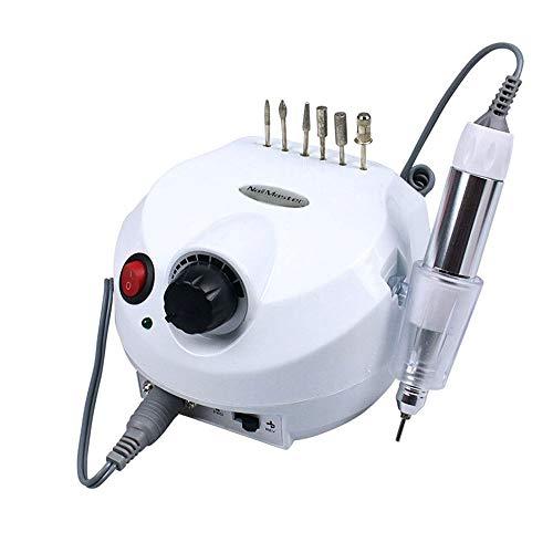 GYYY UV-Lampe für Nägel 45W 35000RPM elektrische Nagelbohrmaschine Mühlenschneider für Maniküre mit Nagelbohrer Nagel Pediküre Datei Nail Art Equipment LED-Lampe für Gelnägel