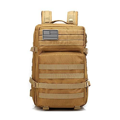 QXbecky Camouflage großen Rucksack Reiserucksack militärische Tarnung Tasche taktischen Rucksack männlichen Outdoor-Sporttasche Rucksack Geschäftsleute khaki 30x30x50m