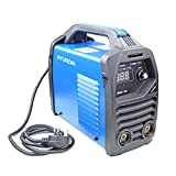 Hyundai HYMMA120 Inverter 120Amp-13Amp Plug, 2 Year Warranty, Portable Stick Welding, Single Phase 230V Arc, MMA Welder, Blue