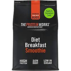 ON THE GO BREAKFAST: Diet Breakfast Smoothie is the ultimate instant morning meal - simply mix with water or milk and you have a delicious, nutrient-dense shake HIGH PROTEIN SMOOTHIE: Packed with an impressive 23g of protein per shake LOW IN SUGAR: L...