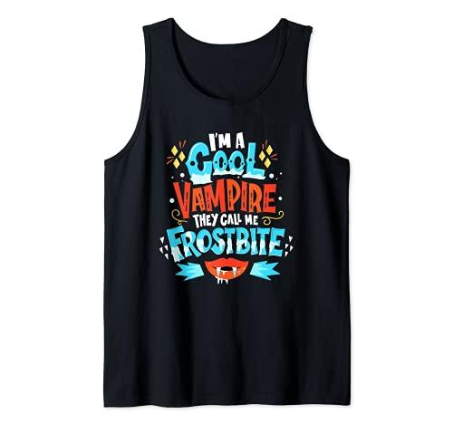 Soy un vampiro genial Me llaman Frostbite - Juegos de Camiseta sin Mangas