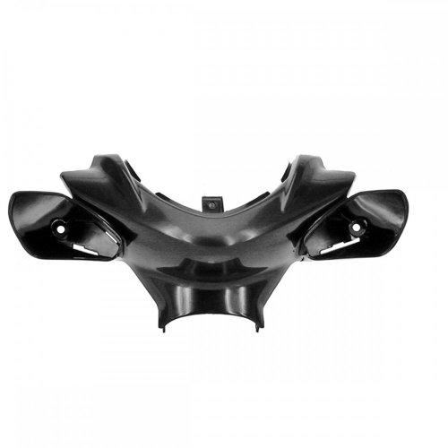 Lenkerverkleidung TNT für Yamaha Aerox, MBK Nitro, schwarz unlackiert