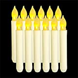 Duyifan 12 PCS Battery Candles - LED Candles Flickering, Flickering Flameless Candles, Fake Candles, Electric Candle for Bedroom, Holiday, Birthday