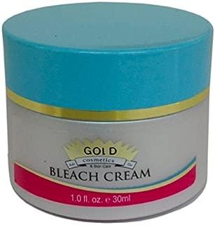Gold Cosmetics & Skin Care BLEACH CREAM ~ Lightening and Bleaching Magical Treatment for Pigmentation, Dark Spots Uneven Skin Tone