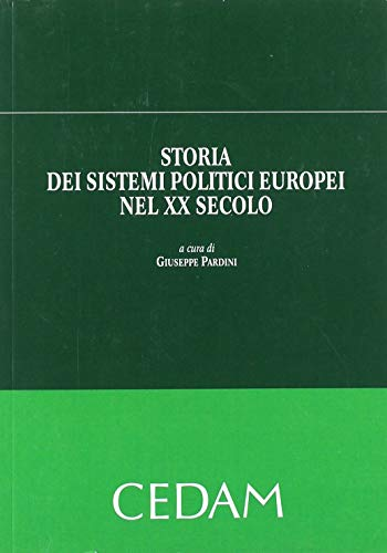 Storia sistemi politici europei