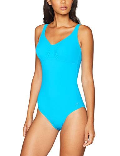Speedo Aquagem Intero, Costume da Bagno Donna, Blu (Windsor Blue), 40 (IT 50)