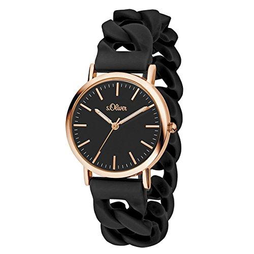 s.Oliver Time Unisex Erwachsene-Armbanduhr SO-3422-PQ