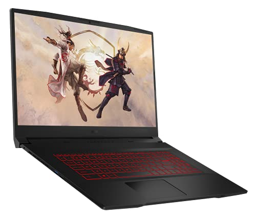 MSI Katana GF76 11UD-223 (17.3 Zoll /144HZ) Gaming-Laptop (Intel Core i7-11800H+HM570, Nvidia RTX3050 Ti, GDDR6 4GB, 512GB, Windows 10 Home Advanced)