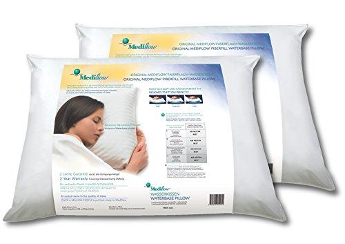 Mediflow 5205 Das Original Wasserkissen im Doppelpack 50x70cm, Weiß