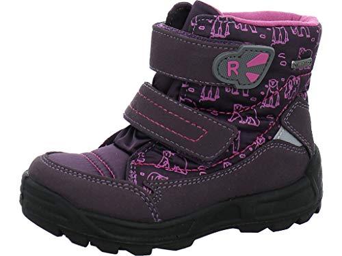 Richter Kinder Lauflerner-Stiefel Sympatex Warm lila Mädchen WMS 2033-441-7701 aubergine Freestyle, Farbe:violett, Größe:22