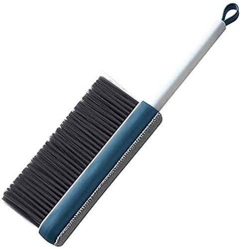 hwljxn Cepillo de limpieza suave - Manejo de madera Hotel con ropa de familia Polvo de polvo Sofá Sofá Sofá Sábanas Limpieza de alfombras Limpieza Natural Bristle Cepillo de madera para oficina en cas