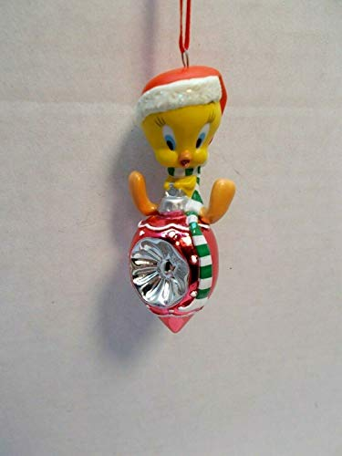 2002 Christmas Habitat Tweety Looney Tunes Hallmark Ornament