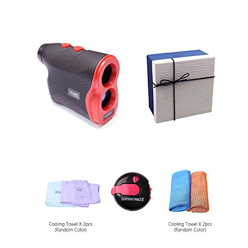 Why Should You Buy POSMA GS-GF400C Golf Rangefinder Laser Range Finder Deluxe Gift Set Bundle with o...
