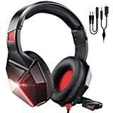 Best Mpow Noise-cancelling Headphones - Mpow RED Gaming Headset for PS4,PS5, PC, Xbox Review
