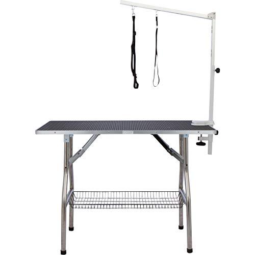 Flying Pig Grooming Heavy Duty Grooming Table -Black (Large, 44