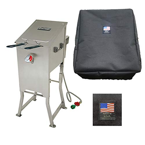 Enterprises 700-701 Deep Fryer Bikini Cover for Bayou Classic 4 Gallon Deep Fryer Custom Made Protection from The Elements Made in The USA