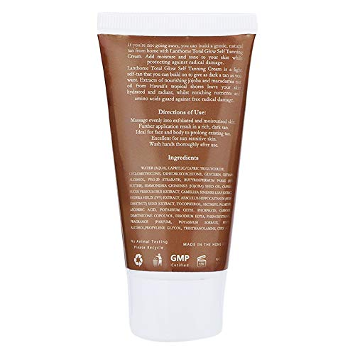 Self Tanning Lotion, Convenient Portable Natural Bronzer, Practical Mild for Face Skin Home Bronzer