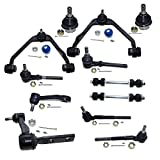 DLZ 12 Pcs Front Suspension Kit-Upper Control Arm...