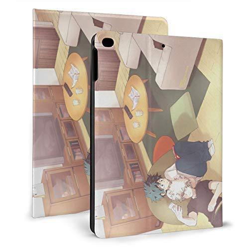 Anime My Hero Academia iPad Case Auto Wake/Sleep, Suitable for iPad mini4/5 7.9'', iPad air1/2 9.7