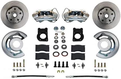Front Disc Brake Conversion Kit Spindle Ford 65-69 Bombing List price free shipping Mustang Mount