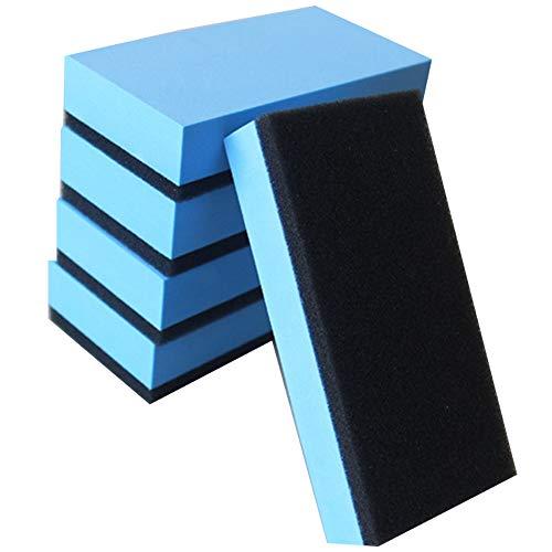 Limeow polierschwamm Hand Polierschwamm polierschwamm Auto polierschwamm bohrmaschine polierschwamm Auto Set polierschwamm Set polierschwamm Set bohrmaschine(5 insgesamt Blau)