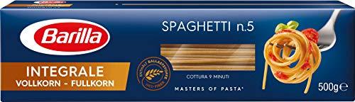 Barilla Vollkorn Nudeln Spaghetti n. 5 Integrale, 500g