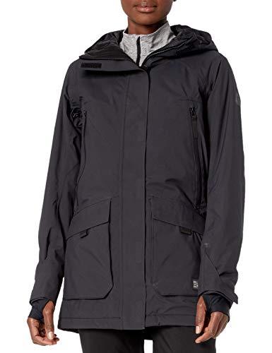 BILLABONG Damen Trooper STX Snowboard Jacket Isolierte Jacke, schwarz, Groß