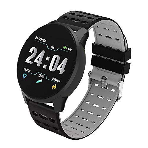Fitness Tracker Wasserdicht Smartwatch mit Sauerstoff Blutdruck- und Herzfrequenzmonitor Aktivitäts Schrittzähler Fitness Uhr für Android und iOS Smartphone Damen Herren