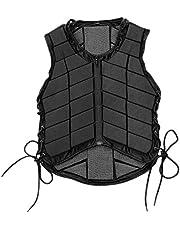 Tamkyo Armadura Ecuestre Chaleco Protector para Montar para Adultos y NiiOs Ropa Armadura Chaleco de Seguridad para Montar una Caballo Talla CM