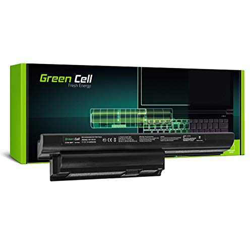 Green Cell® Standard Serie VGP-BPS26A / VGP-BPS26 / VGP-BPL26 Akku für Sony Vaio PCG-71 PCG-71614M PCG-71811M PCG-71911M Laptop (6 Zellen 4400mAh 11.1V Schwarz)