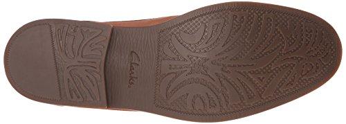 CLARKS Men's Garren Cap Oxford, Tan, 8.5 D-Medium
