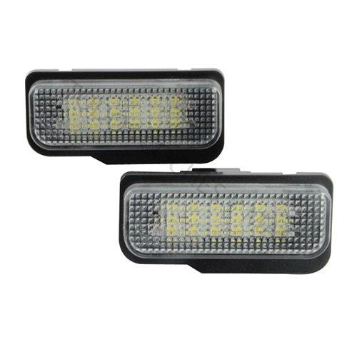 TMT LEDs (TM) plafonnier lED plaque d'immatriculation homologué E4 ce W211 W219 W203 5 portes w171 W207 lumières LED