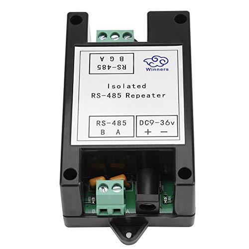 RS-485 Repeater, Jarchii RS-485-Repeater, industrietauglich Stabiler, zuverlässiger Signal-Repeater-Verstärker Isolierter Distanz-Extender für das IC-Karten-Ladesystem zur Automatisierungssteueru