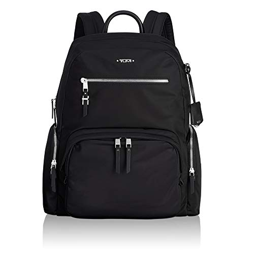 TUMI - Voyageur Carson Laptop Backpack - 15 Inch Computer Bag for Women - Black/Silver California