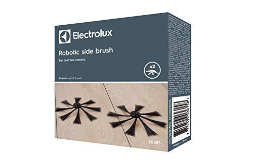 Electrolux ERSB3 Lot de 2 brosses latérales pour aspirateurs PUREi9 Noir