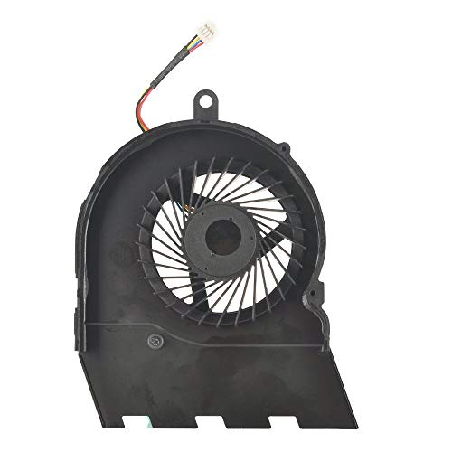 DBParts CPU Cooling Fan Compatible For Dell Inspiron 15-5565 15-5567 17-5767, P/N: CN-0789DY T6X66, DC05V 0.60A, (4-wires) 4-pins connector