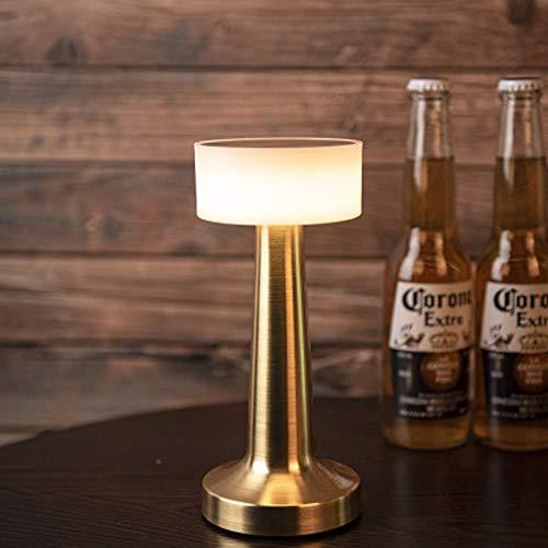 Horseshoe Lampade da Tavolo da Bar, 3 modalità di Illuminazione Lampade da Tavolo con Sensore A Sfioramento Lampada da Tavolo Luci Notturne, per Ristorante KTV Bar,d'oro