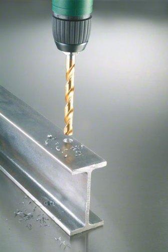 Bosch 2608587019 Coffret de forets à métaux rectifié HSS-TIN revêtement titane