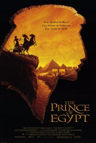 Pop Culture Graphics The Prince of Egypt Poster Movie 11x17
