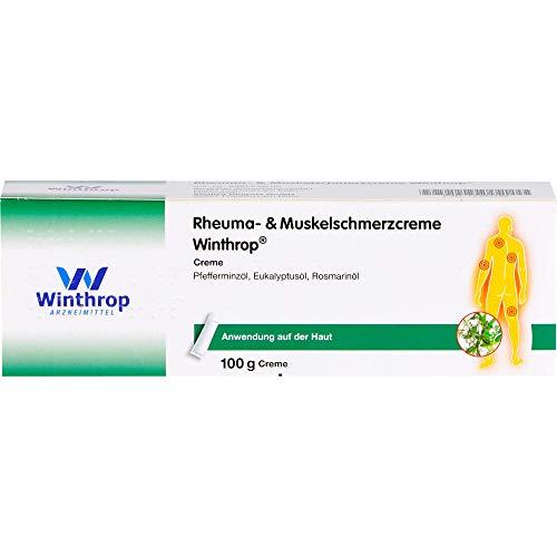 ZENTIVA Rheuma- & Muskelschmerzcreme Winthrop, 100 g Creme