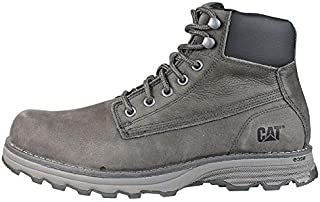 Caterpillar Dark Grey Lace Up Boot For Men