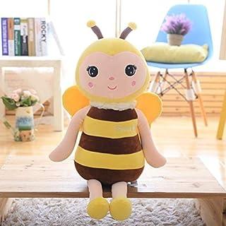 Lindas abejas bebé de felpa muñeca cómoda cama de coche