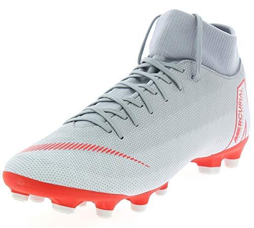 Nike Ah7362, Scarpe da Calcio Uomo, Grigio Wolf Grey Lt Crimson Pure Plat 060, 42 EU