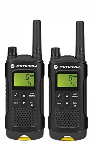Motorola XT180 Two-Way radios 8 Canales 446 MHz Negro - Walkie-Talkie (8 Canales, 446 MHz, 8000 m, LCD, Níquel-Metal hidruro (NiMH), 14 h)
