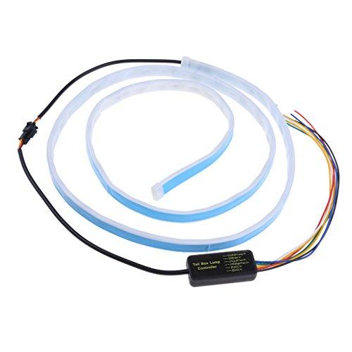 Baoblaze Conduit Voiture Bande de Neon De Voiture De LED Lumière Décorative D'auto - #3