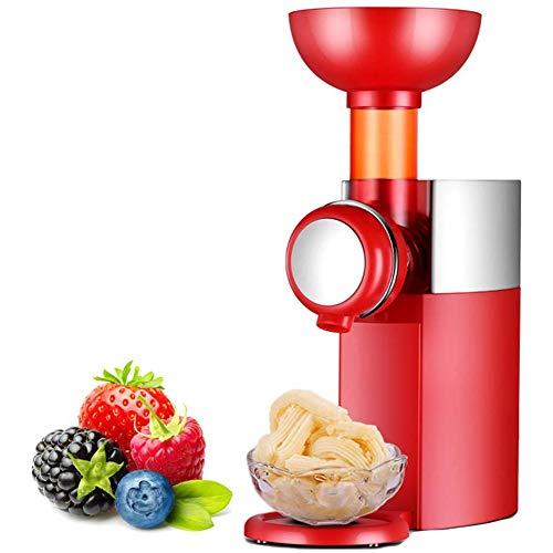 XINGXINGNS Frucht Eismaschine Softeismaschine, Eismaschine EIS-Creme Zum Selber Machen, Eismaschine, Für Gefrorene Früchte Fettfrei-Kalorienarm-Milchfrei-Aus Früchten