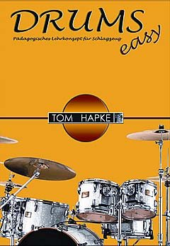 DRUMS EASY 1 - arrangiert für Schlagzeug [Noten / Sheetmusic] Komponist: HAPKE TOM