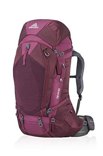 Gregory W Deva 60 Rot, Damen Alpin- und Trekkingrucksack, Größe XS - Farbe Plum Red