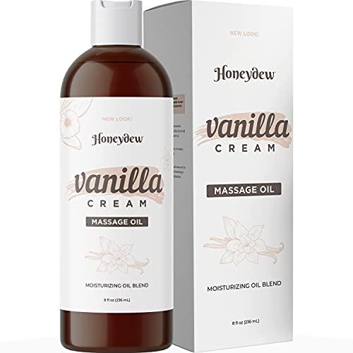Vanilla Massage Oil for Massage Therapy - Sensual Massage...
